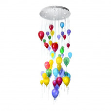 Люстра Водопад 1-2455-7-CR GU10