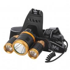 Налобный светодиодный фонарь ЭРА аккумуляторный GA-809 Б0039627