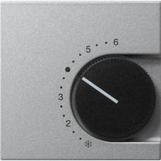 Лицевая панель Gira System 55 термостата теплого пола алюминий 149626