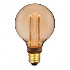 Лампа светодиодная Hiper E27 4W 1800K янтарная HL-2229