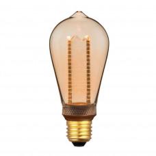 Лампа светодиодная Hiper E27 4W 1800K янтарная HL-2228