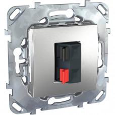 Аудиорозетка Schneider Electric Unica MGU5.486.30ZD