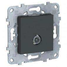 Розетка TV проходная Schneider Electric Unica New NU546354