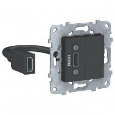 Розетка компьютерная HDMI Schneider Electric Unica New NU543054