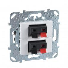 Аудиорозетка двойная Schneider Electric Unica MGU5.8787.18ZD