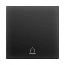 Кнопка звонка Werkel черная матовая WL08-04-01 4690389099861