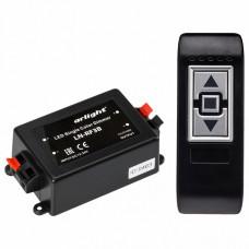Контроллер-диммер с пультом ДУ Arlight LN-RF3B LN-RF3B (12-24V,96-192W, ПДУ 3кн)