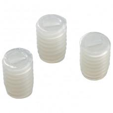 Набор из 100 креплений для рассеивателя Arlight TOP-M4x6 (PVC, белый) 017487