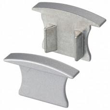 Набор из 2 заглушек для профиля Arlight ALU-SLIM-H15-F 018242