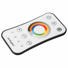 Пульт-регулятора цвета RGBW с сенсорным кольцом Arlight SMART-R SMART-R16-MULTI (4 зоны, 2.4G)