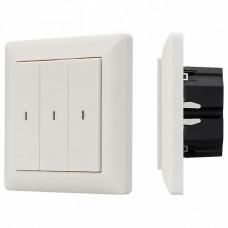 Диммер клавишный Arlight Knob SR-KN0300-IN White (KNX, DIM)