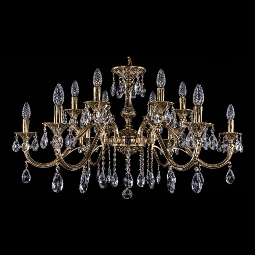 Подвесная люстра Bohemia Ivele Crystal 1703 1703/12/360/A/GB