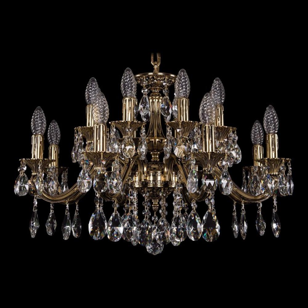 Подвесная люстра Bohemia Ivele Crystal 1703 1703/16/225/A/GB