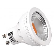 Лампа светодиодная диммируемая DL18262/3000 6W GU10 Dim 220В 3000K