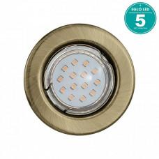 Комплект из 3 встраиваемых светильников Igoa 93231 Eglo