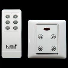 Выключатель с пультом ДУ 99999 Комплект блоков управления с пультом (10 блоков + 1 пульт) белый 2016