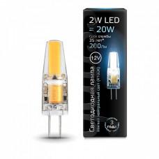 Лампа светодиодная Gauss 2077 G4 2Вт 4100K 207707202