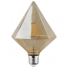 Лампа светодиодная Horoz Electric Rustic Pyramid-6 E27 6Вт 2200K HRZ00002377