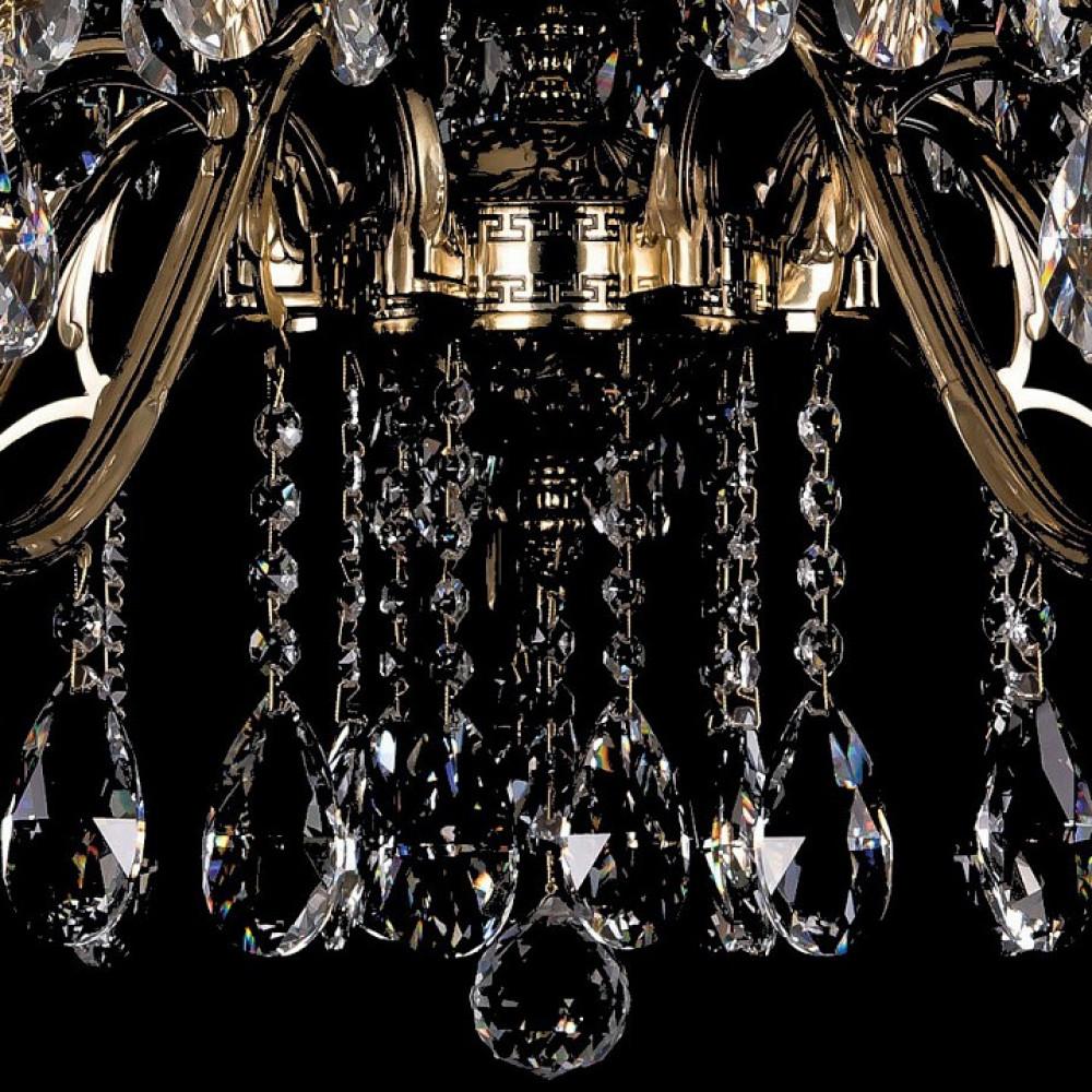 Подвесная люстра Bohemia Ivele Crystal 1703 1703/14/360/A/GB