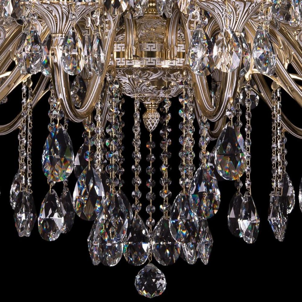 Подвесная люстра Bohemia Ivele Crystal 1703 1703/24/360/B/GW