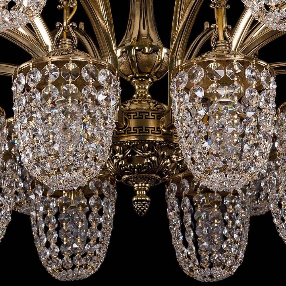 Подвесная люстра Bohemia Ivele Crystal 1772 1772/16/342/GB