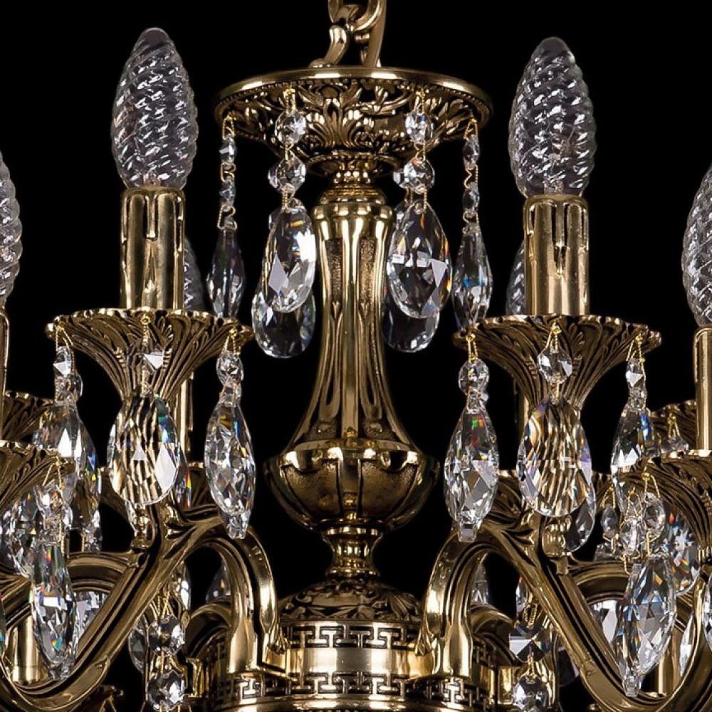Подвесная люстра Bohemia Ivele Crystal 1703 1703/12/225/A/GB