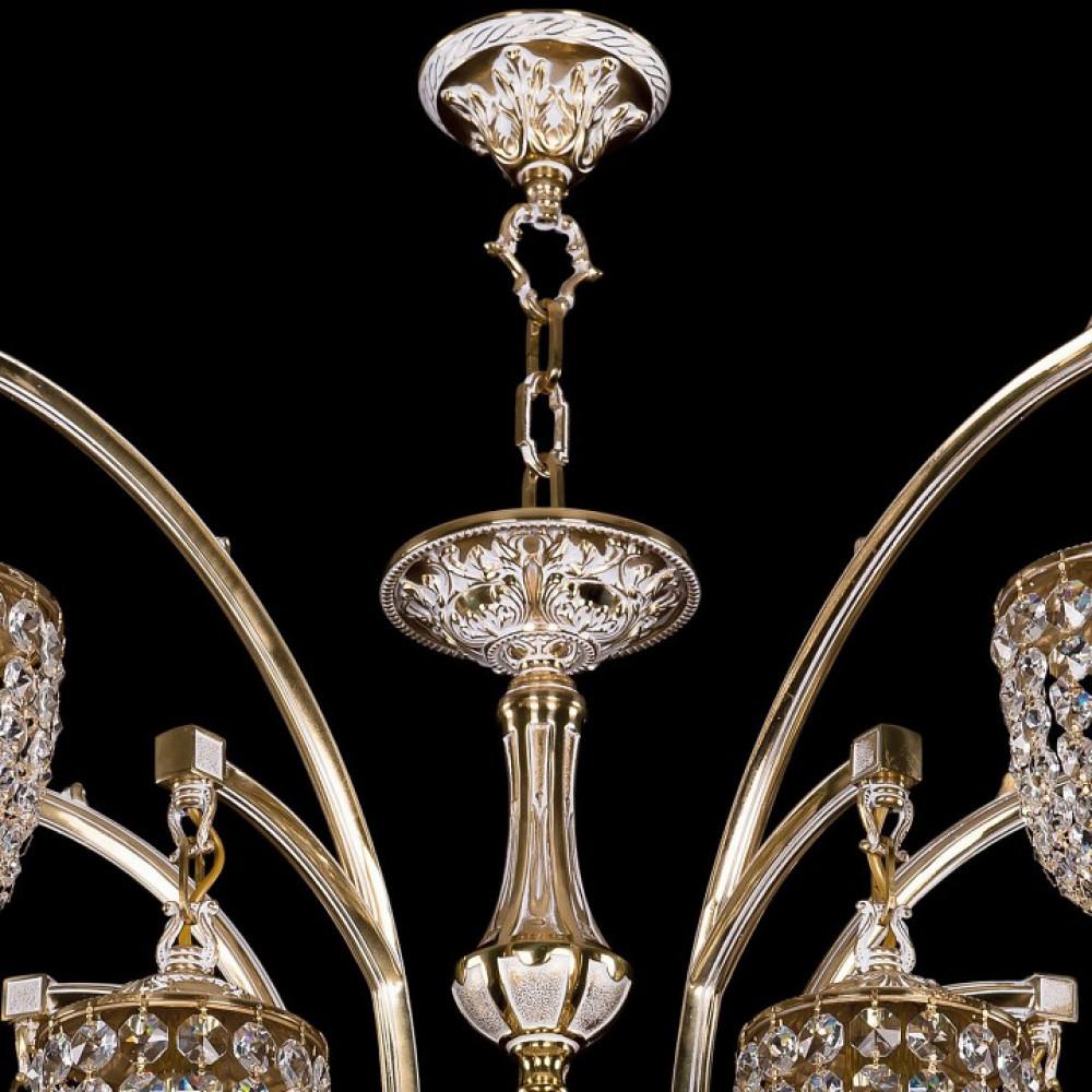 Подвесная люстра Bohemia Ivele Crystal 1772 1772/10/342/GW