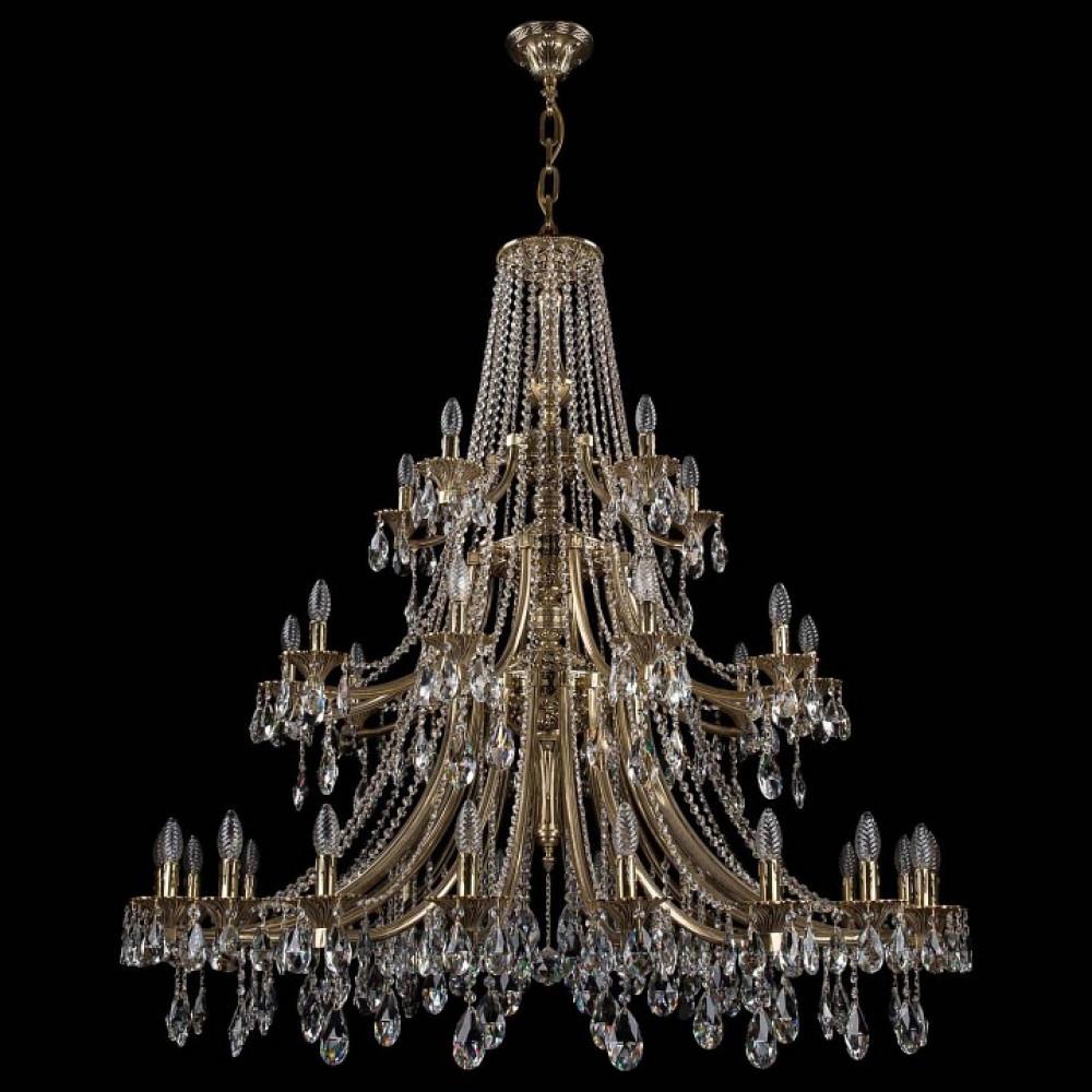 Подвесная люстра Bohemia Ivele Crystal 1771 1771/20+10+5/490/A/GB