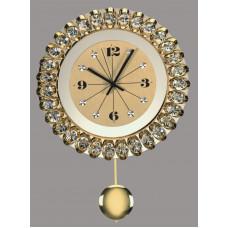 Часы настенные хрустальные Preciosa 99 008 21 25 7016 000 13 70 05 35
